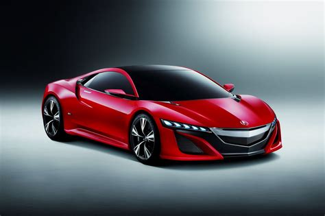 honda supercar concept acura nsx concept is a hybrid supercar photos and details