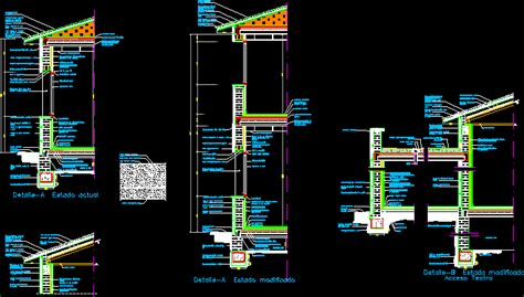 cross section dwg section  autocad designs cad