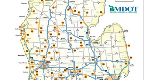 mdot construction map mdot releases 2018 state construction map wwmt