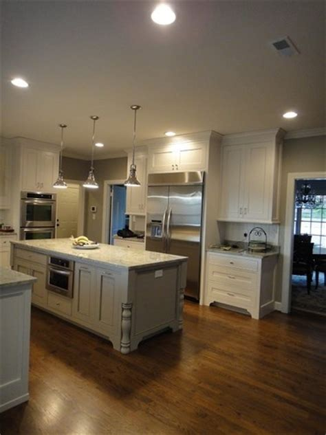 island lowes woodlawn colonial gray kitchens dining rooms pin