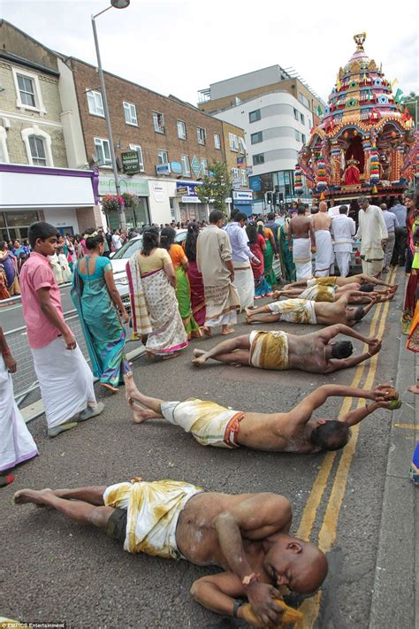 along with the gods london hindu chariot procession in ealing attracts thousands of