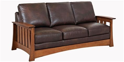 Sleeper Style by Leather Mission Style Sleeper Sofa