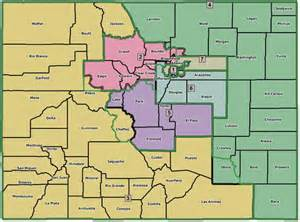 colorado map with county lines colorado redistricting maps from the kumbaya committee