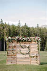 Iron Awning Banff Indie Wedding Photographer 046 Ceremony Decor