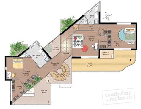 Plan D Architecte De Maison by Maison D Architecte 1 D 233 Du Plan De Maison D
