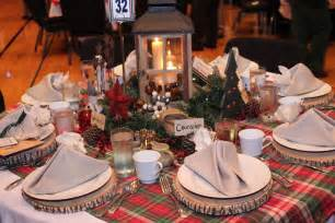 Christmas Table Settings by Ideas For Setting The Christmas Table