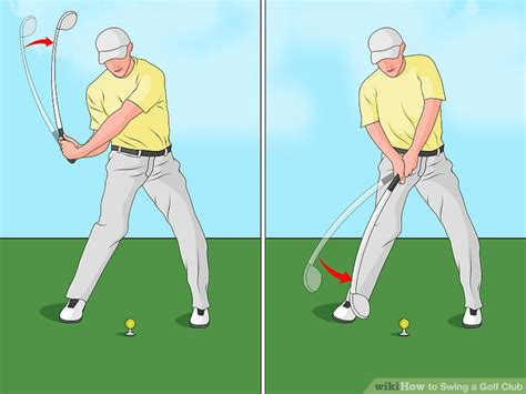 best way to swing a golf club the best way to swing a golf club wikihow