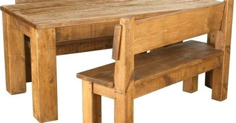 Chunky Wooden Dining Tables Solid Wooden Dining Table Benches Chunky Rustic Plank Pine Furniture Dining