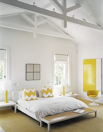 yellow and white bedroom colour psychology using yellow in interiors the design