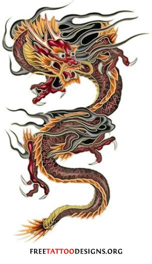 chinese dragon tattoos designs tattoos