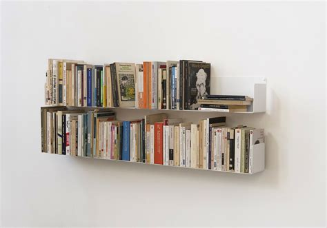 Set Of 4 Wall Mounted Bookshelves Quot U Quot Teebooks Mounted Bookshelves