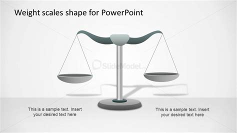 weighing scale template weight scale powerpoint shape equilibrium slidemodel
