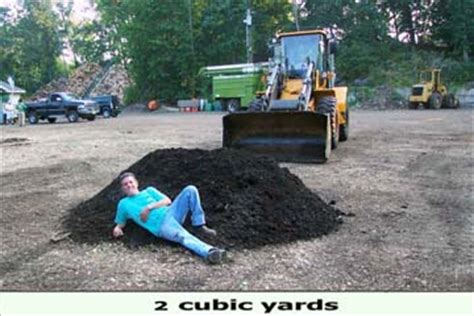 Cubic Yards To Tons Soil What Does 1 Cubic Yard Look Like