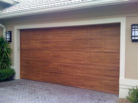 wood garage doors inspiring faux wood garage doors the better garages