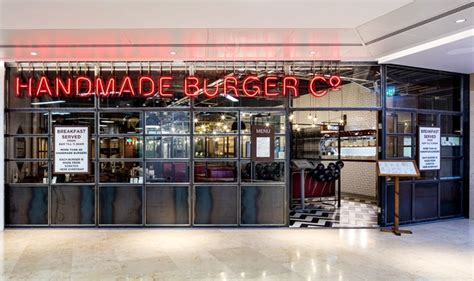 Handmade Burger Company Birmingham - handmade burger co restaurant by brown studio birmingham