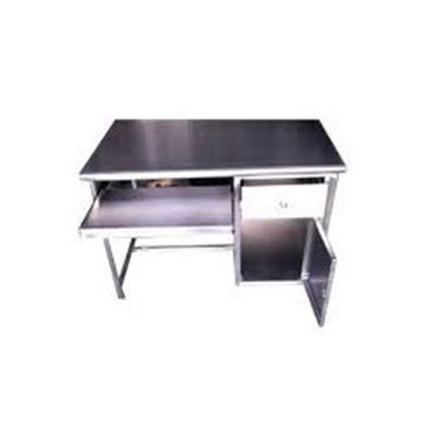 Stainless Steel Computer Desk Stainless Steel Computer Table Ss Computer Table Suppliers Traders Manufacturers