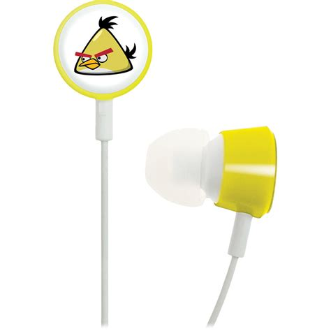 Gear4 Tweeters Earphone gear4 angry birds tweeters headphones yellow bird