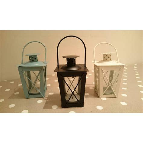 Set Of Three Candle Lanterns Set Of Three Hudson Tealight Candle Lanterns By Garden