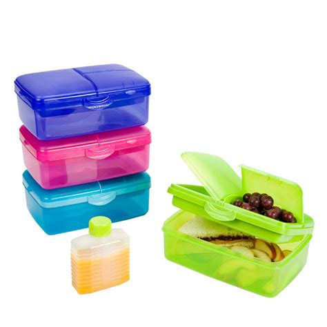 lunch box containers slimline quaddie lunchbox the container store