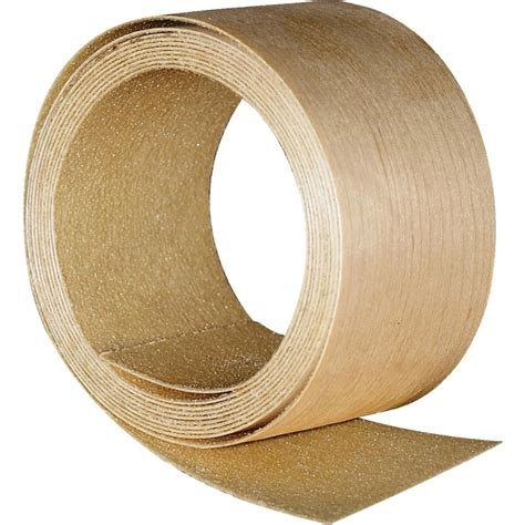 band it 2 in x 8 ft red oak veneer edgeband 971993 the home depot