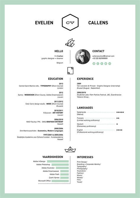 cv design svenska resume on behance