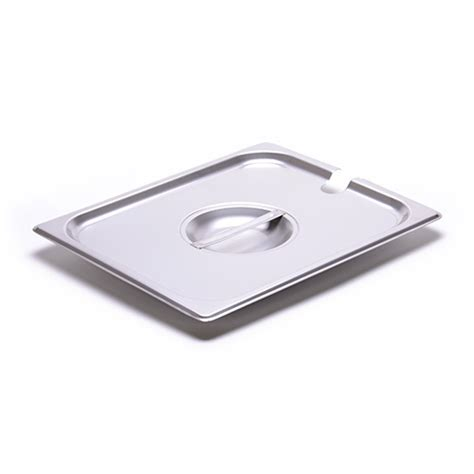 half size steam table pans half size steam table pan slotted cover for 24