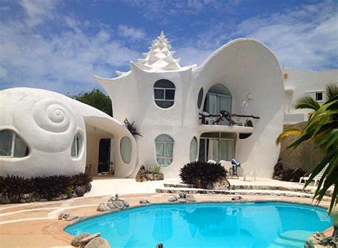 "The Shell House ""Casa Caracol"", Isla Mujeres (Cancun"
