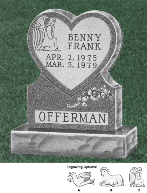 baby headstones pin headstone to memorial monument on