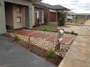 Small Front Garden Ideas Australia Beautiful Contemporary Front Yards Melton Merbau Landscaping Melton Vic 3337 Truelocal