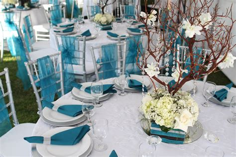 blue and silver party ideas southwestern silver and