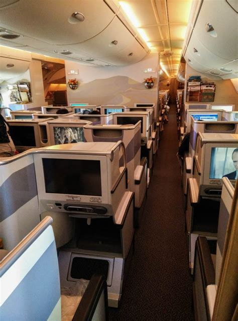 emirates cabin review emirates business class dubai to rome a380