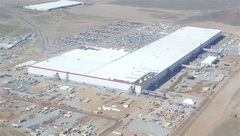 tesla factory tesla gigafactory 1 is beginning to look like a small city