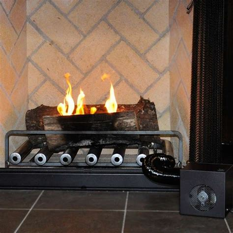 gas fireplace logs with blower 1000 ideas about fireplace blower on gas