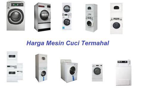 Harga Merk Mesin Cuci Terbaik harga mesin cuci dan pengering laundry terbaik termahal