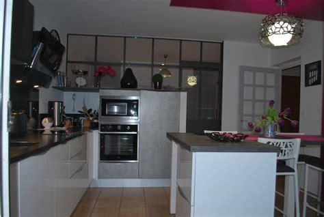 o fr cuisine cuisine avec magnifique verri 232 re cuisines kergourlay