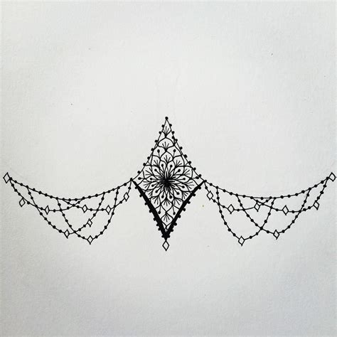 sternum tattoo simple i like the sides something else for the middle