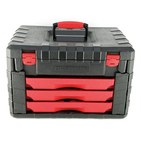 craftsman 3 drawer tool box plastic craftsman 3 drawer tool storage box for 263pc tool