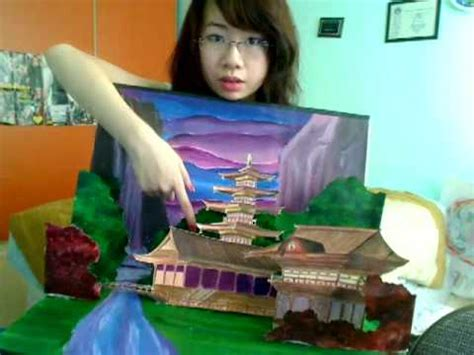 libro models close up how to make a pop up art card easy tutorial youtube