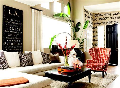 Graffiti Living Room by Graffiti Living Room Eclectic Living Room Orange