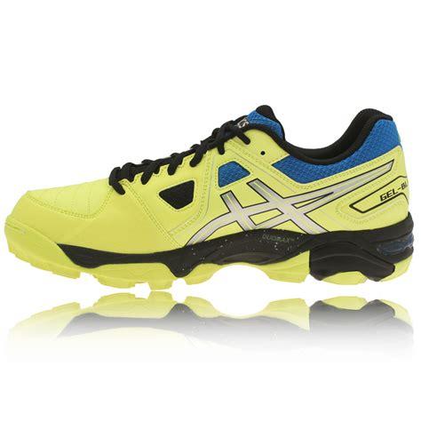 asics gel blackheath 5 hockey shoes mens yellow asi3450
