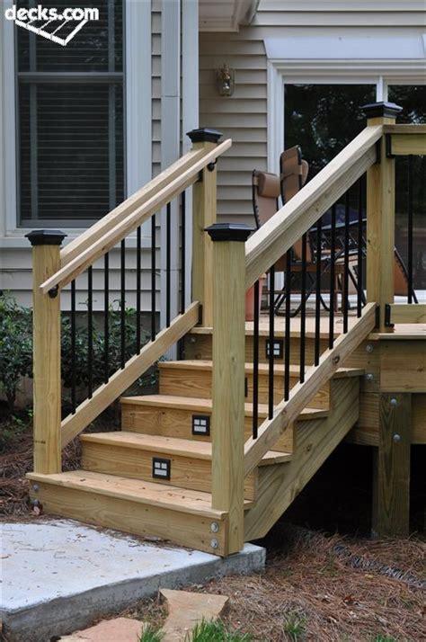 deck stair railings