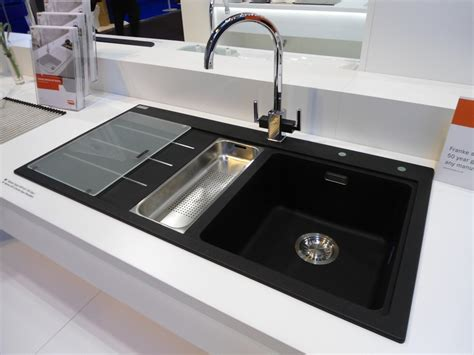 kitchen sinks black top 15 black kitchen sink designs mostbeautifulthings