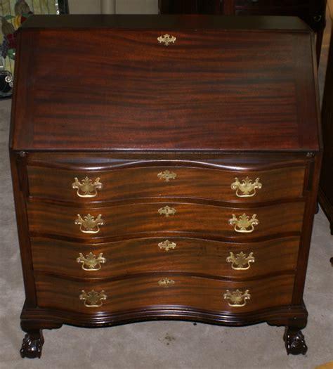 Governor Winthrop Mahogany Antique Secretary Desk Governor Winthrop Desk