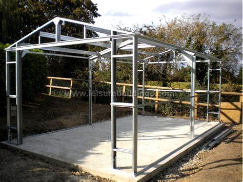 Steel Frame Garage by Steel Garages For Sale 20ft Wide Strong Metal Garage