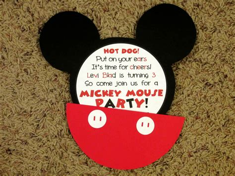 free mickey mouse invitations luxury free template for invitation