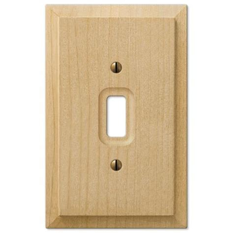 amerelle 180ttd baker unfinished alder wood 2 toggle 1 duplex wall plate baker unfinished alder wood 2 toggle wallplate