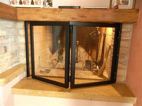 vetro temperato per camini sportelli a libretto per camino in ferro verniciato con