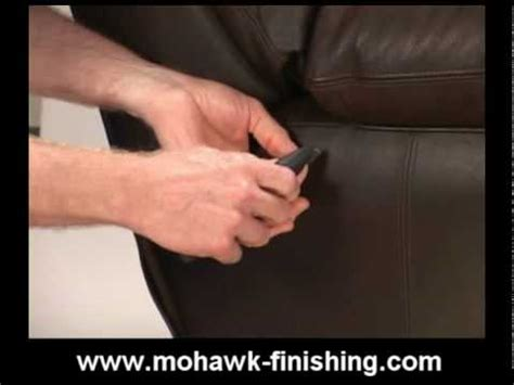 How To Fix A Rip In Leather by How To Repair A Leather Tear How To Save Money And Do It