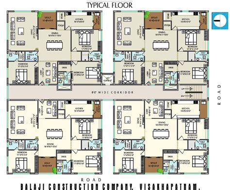 company floor plan balaji construction company