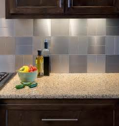 Stick On Kitchen Backsplash by Peel And Stick Backsplash Ideas For Your Kitchen Decozilla